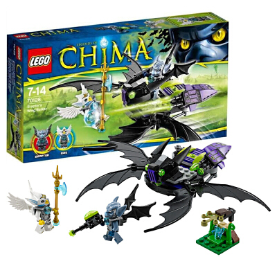 【当当自营】LEGO乐高蝠锐特翼式攻击机 70128材质安全妈妈放心 小灵感大快乐 爱拼才会赢