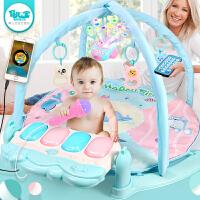 脚踏钢琴0-1岁玩具3-6-12个月男孩女宝宝架器