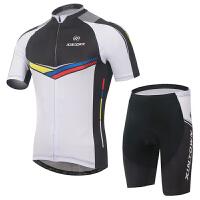 新款意大利骑行服短袖套装 自行车服 夏季吸湿排汗衣裤 XX