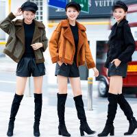 秋冬季新款宽松显瘦百搭短款长袖短外套时尚潮流女装