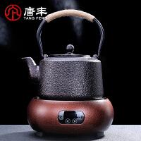唐丰铸铁壶泡茶壶日本铁壶南部铁壶 日本生铁壶粒子老铁壶