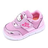 HelloKitty凯蒂猫新款女宝宝休闲鞋儿童网面鞋