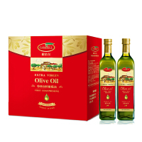 西班牙原装进口 橄倍尔特级初榨橄榄油500ml*2尊享礼盒 食用油 酸度≤0.4