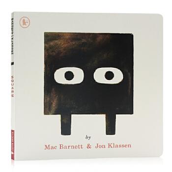 正方形 Square 英文原版绘本 幽默趣味故事图画书 形状认知艺术启蒙绘本 Mac Barnett Jon Klassen 获奖名家绘本 Mac Barnett Jon Klassen 获奖名家绘本