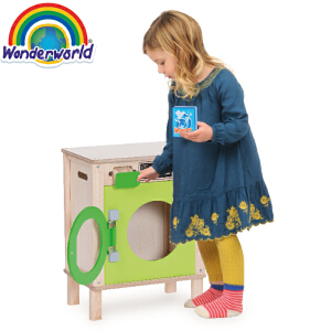 [当当自营]泰国Wonderworld 洗衣机 过家家角色扮演益智玩具 大件玩具 幼儿园玩具