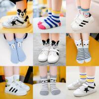 儿童袜子 1-12岁男女宝宝中通袜 秋冬季可通立体棉袜童袜 5双