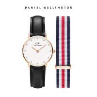 Danielwellington丹尼尔惠灵顿DW手表女学生DW表带礼盒套装