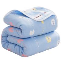 六层纱布被子毛巾被纯棉单人双人空调毯子夏季儿童婴儿夏凉被