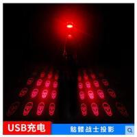 户外自行车激光尾灯usb充灯LED警示灯单车配件电夜间夜骑山地车灯后尾