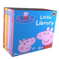 小猪佩奇 粉红猪小妹 英文原版 Peppa Pig: Little Library