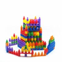 儿童头积木1-2-3岁宝宝益智力玩具小孩启蒙拼装插式塑料拼插