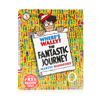 威利在哪里?梦幻般的旅程 Where's Wally? The Fantastic Journey 英文原版绘本 找一