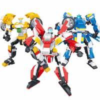 兼容乐高星钻积木赛尔号元气拯救队积木拼装玩具男生版机器人星转