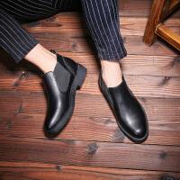 秋冬男士马丁靴短靴潮鞋百搭休闲高帮鞋皮靴韩版内增高板鞋工装靴