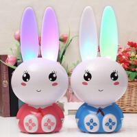 米米智玩 卡通兔子早教故事机可充电下载 婴幼儿童MP3益智宝贝音乐益智玩具