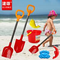 小孩宝宝玩雪雪铲雪地挖沙工具儿童沙滩桶铲子玩沙子玩具套装