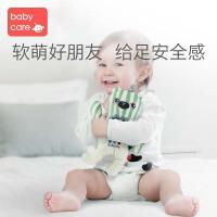 babycare婴儿毛绒玩具可入口陪宝宝睡眠安抚娃娃玩偶可咬纯棉布偶
