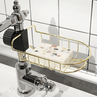 ins浴室厨房水龙头架子水槽置物架洗碗巾抹布收纳挂架水池沥水架