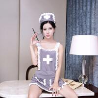 情趣内衣 女 玩性 欲之诱惑护士制服角色扮演XC 灰色 均码