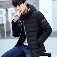 羽绒服男短款2017冬季新款青年学生韩版修身冬装加厚外套潮牌男装