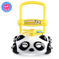 儿童音乐玩具学步车手推车宝宝学走路助步车6/7-18个月