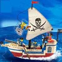 【支持礼品卡】玩具海盗船系列儿童益智拼装6男孩子7模型8玩具9岁10 u5m