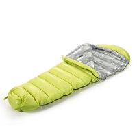 家纺罗莱生活出品加厚保暖鸭绒睡袋隔脏户外羽绒睡袋SN2286 户外羽绒睡袋。