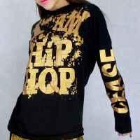 男女款 学生少儿节日表演嘻哈时尚哈伦服装  时尚街舞爵士舞嘻哈帅气前卫套装舞台演出服