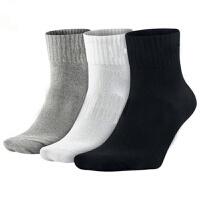 袜男四季纯色中筒袜 旅游休闲运动男士袜子 均码