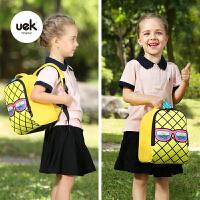 男女孩菠萝书包旅行双肩背包潮幼儿园书包书包小宝宝1-3岁