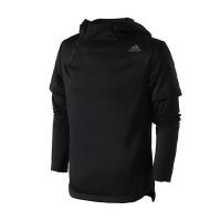 adidas阿迪达斯男子卫衣2018新款假两件篮球休闲运动服CE6982