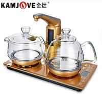 金灶(KAMJOVE) G9全智能煮茶电热壶自动茶具套装电茶炉玻璃茶具 G9