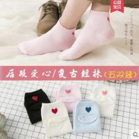 袜子女士短袜纯棉袜户外新品韩版低帮浅口运动可爱中筒袜日系学院风