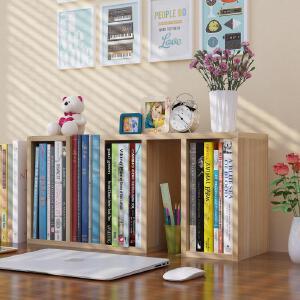 御目 书架 创意学生桌上书架置物架简易组合儿童桌面小书架迷你储物柜小书柜多功能收纳柜