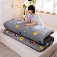 加厚全棉床垫被加厚1.5m床褥子1.2米学生宿舍单人双人榻榻米1.8米2米