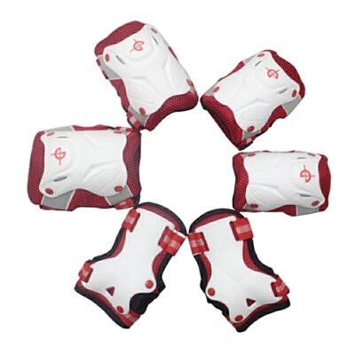 奥得赛儿童护具 08儿童溜冰鞋专业保护护具 护膝护肘护掌六件套 安全耐用 耐冲击 舒适