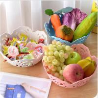 厨房用品创意欧式镂空塑料水果盘客厅酒店零食盘干果盘