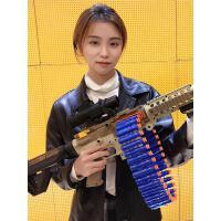 电动连发软弹枪M416儿童玩具枪手枪男孩机关枪仿真加特林M2重机枪