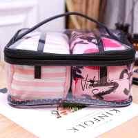 化妆包 大多功能红色包女创意女士大小韩版时尚工具箱便携式新款护肤品收纳化妆箱随身