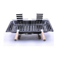 GASLION 格狮伦 铁脚情侣炉手提式烧烤架便携烧烤炉GSL-L-001