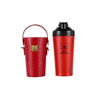 杯具熊(BEDDYBEAR) 能量杯保温杯碱性矿物质不锈钢水壶健康杯泡茶杯暖水瓶男女士学生水杯700ml 红色