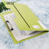康百 A3对折试卷夹学生写字垫板书夹子多功能a4文件夹办公用档案资料夹