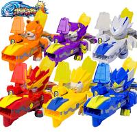 金刚战士机器人标靶套装男孩玩具激战奇轮3玩具烈焰狮王变形神枪