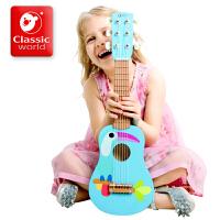 六弦小吉他幼儿启蒙乐器儿童吉他玩具可弹奏