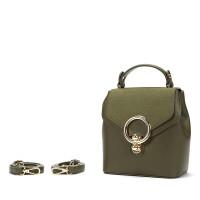 鞋柜女包秋季新款欧美时尚多功能小包手提单肩斜挎包双肩背包f 墨绿色108