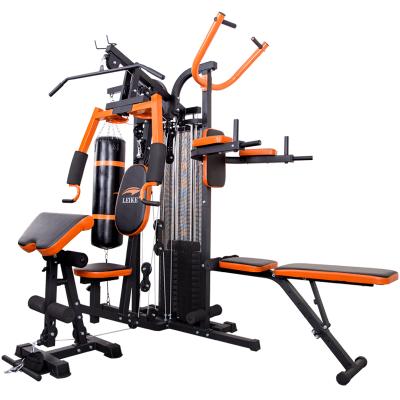 多功能综合训练器家用三人站大型组合力量健身器材器械 发货周期:一般在付款后2-90天左右发货,具体发货时间请以与客服协商的时间为准