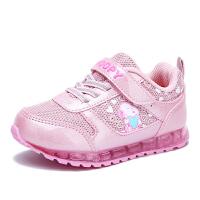 史努比童鞋女孩跑步休闲鞋儿童透气网面鞋