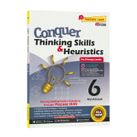 【现货】SAP Conquer Thinking Skills & Heuristics 6 六年级攻克数学系列应用题