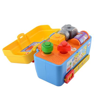 [当当自营]Fisher Price 费雪智玩宝宝工具箱(双语) DMW54 【当当自营】适合6个月以上婴幼儿 益智玩具