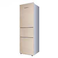【当当自营】上菱BCD-191THCK金 家用三门冰箱